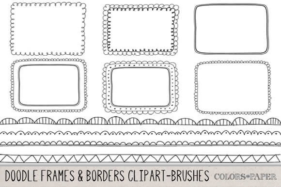 30+ Vector Borders & Dividers
