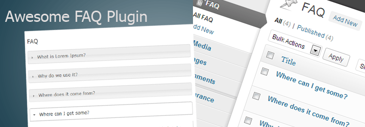 faq wordpress plugin backend system open source