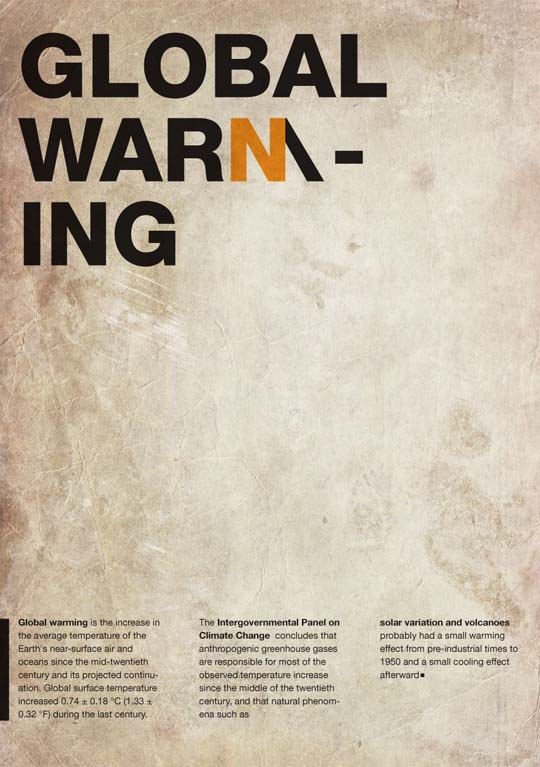 27.typography-posters Typographic Posters: 100 Stunning Examples design tips