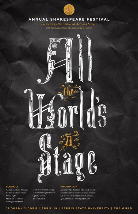 272 Typographic Posters: 100 Stunning Examples design tips