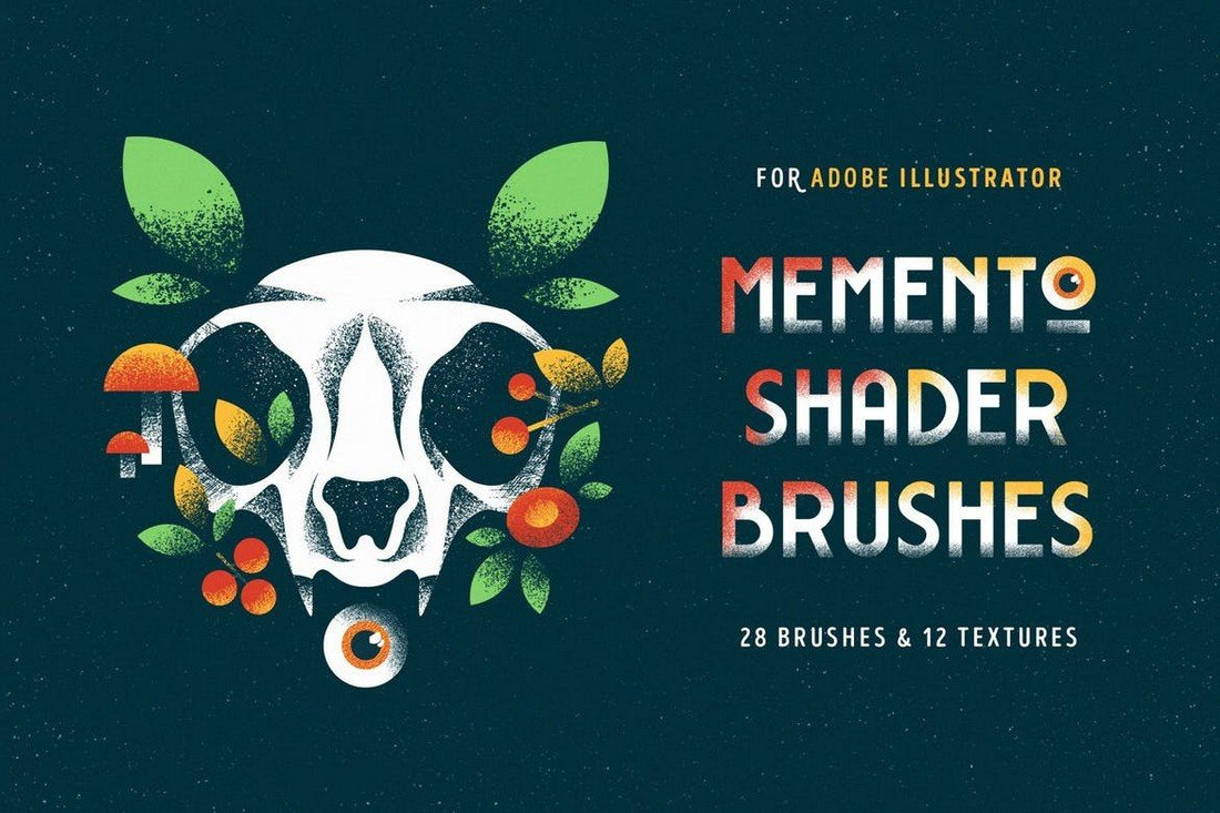 28-Shader-Brushes-for-Illustrator 25+ Best Free Adobe Illustrator Brushes 2021 design tips