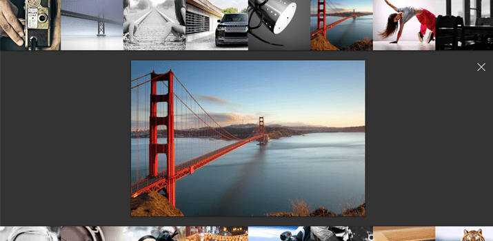 jquery superbox image gallery showcase open source