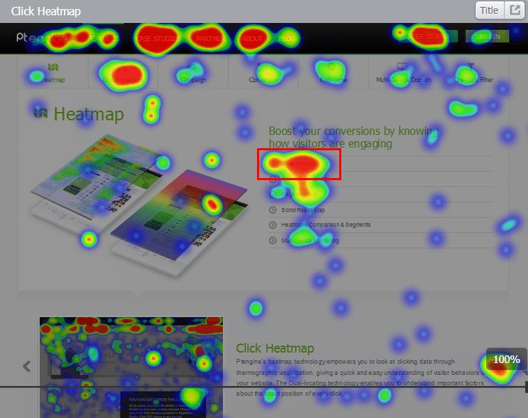 2Click Heatmap & Page Analysis