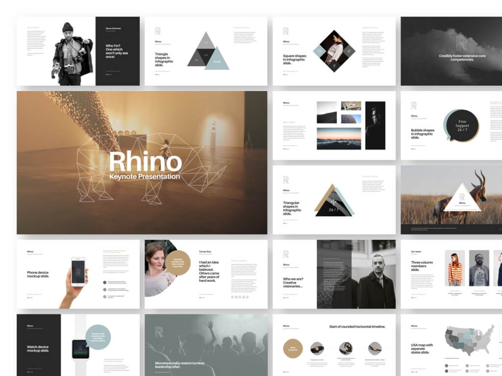 25+ modern, premium keynote templates | design shack, Presentation templates