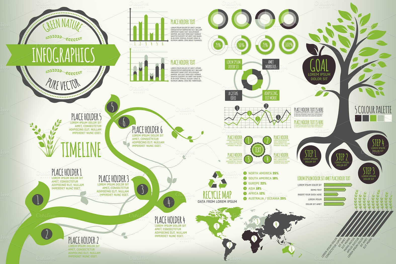 3-18 40+ Best Infographic Templates (Word, PowerPoint & Illustrator) design tips