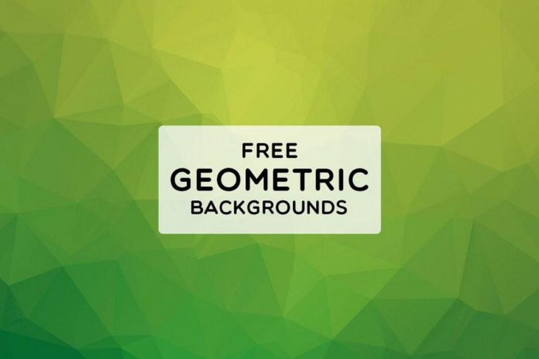 3 Free 8K Geometric Backgrounds