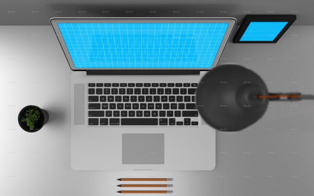 3 MacBook Pro Laptop Mockups