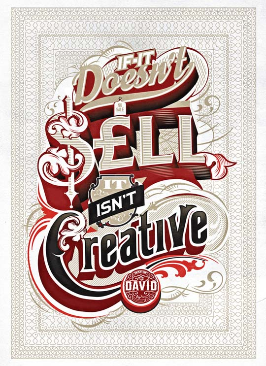 3.typography-posters Typographic Posters: 100 Stunning Examples design tips