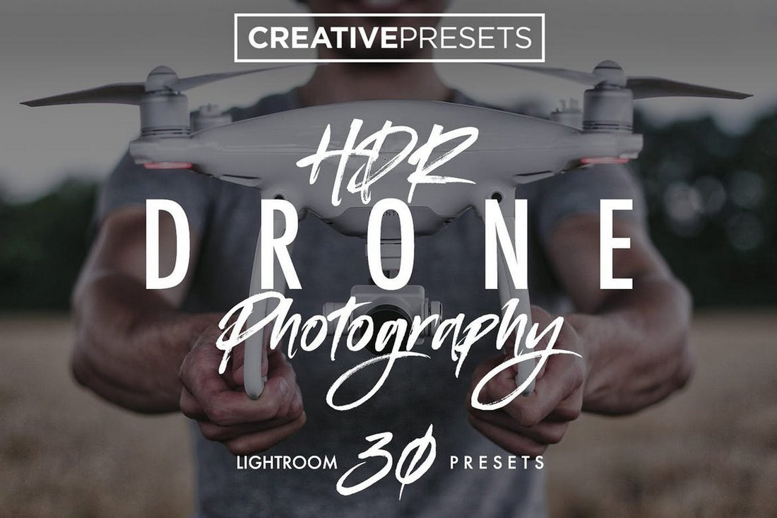 30+ HDR Drone Photography Lightroom Presets