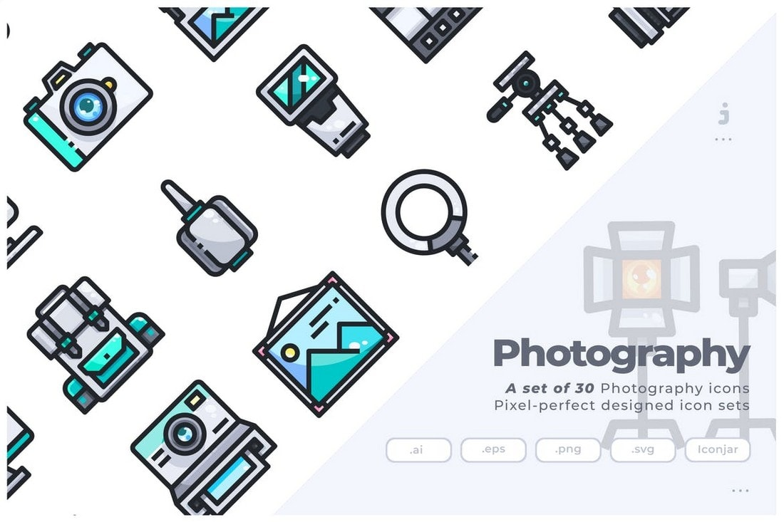 30 Photography Icons