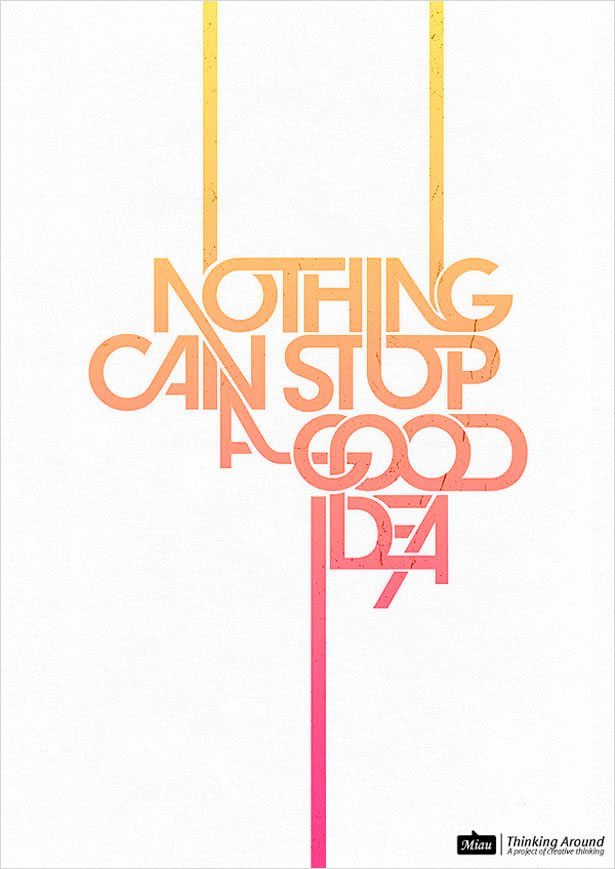 typographic posters 100 stunning exles design shack
