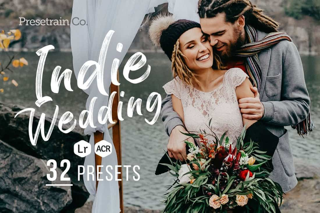 32-Indie-Wedding-Presets-for-Lightroom 15+ Best HDR Lightroom Presets 2020 design tips  Inspiration