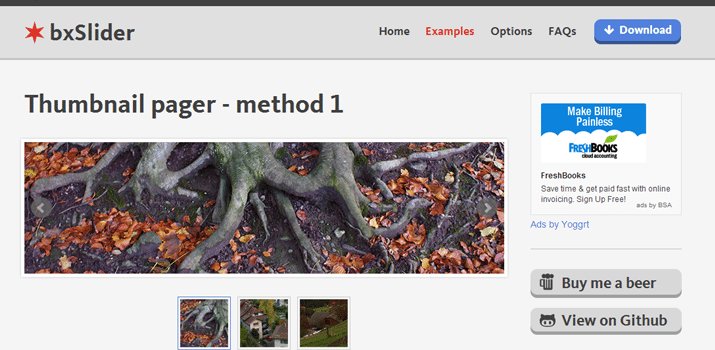 responsive jquery bxslider plugin slider