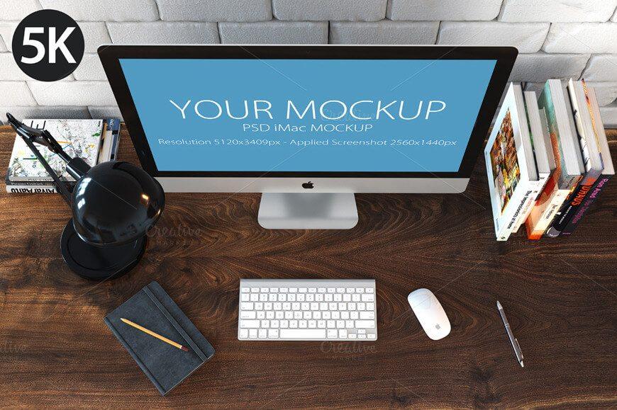 33-2 40+ iMac Mockup PSDs, Photos & Vectors design tips