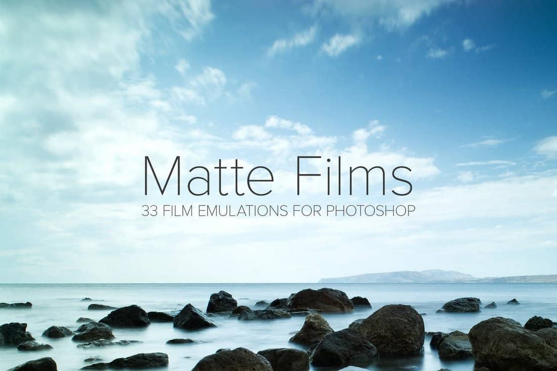 33 Matte Film Emulation Actions