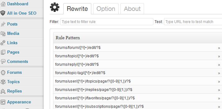 wordpress rewrite plugin open source