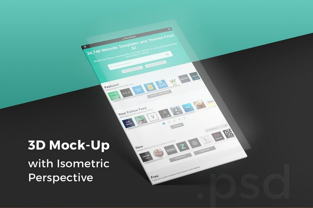 3D-Isometric-Perspective-Mock-Up 40+ Best Website PSD Mockups & Tools 2020 design tips