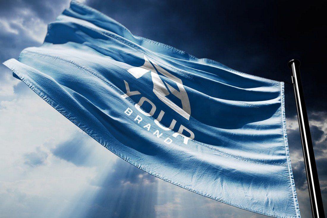 3D-Logo-Flag-Mockups 20+ Best 3D Logo Mockup Templates design tips