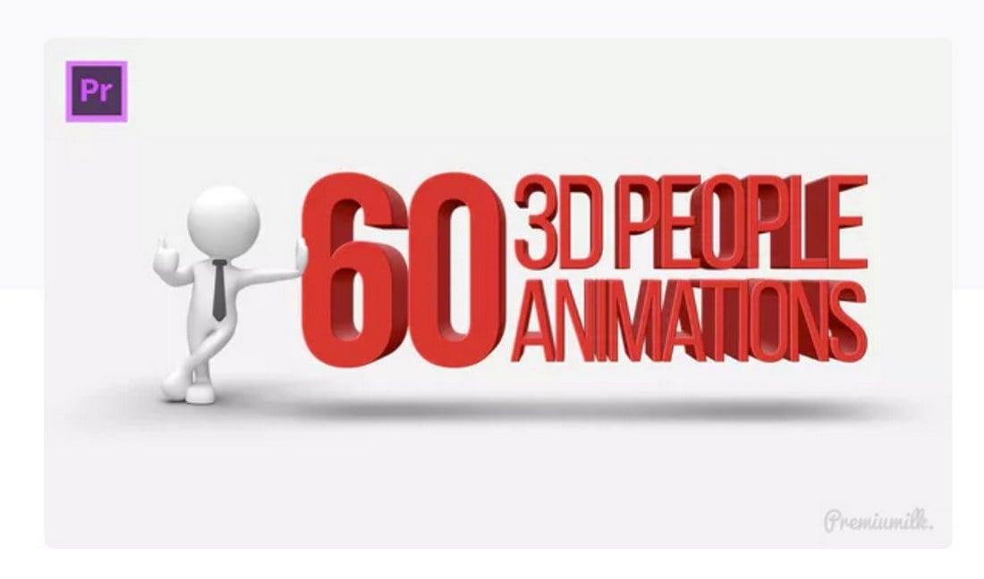 3d-people-premiere-pro-template 30+ Best Premiere Pro Templates 2019 design tips