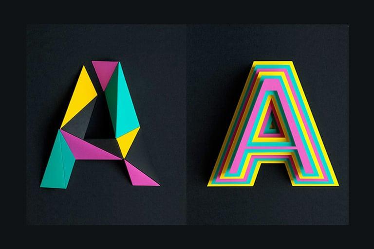 3D Typography: An Inspiring Design Trend