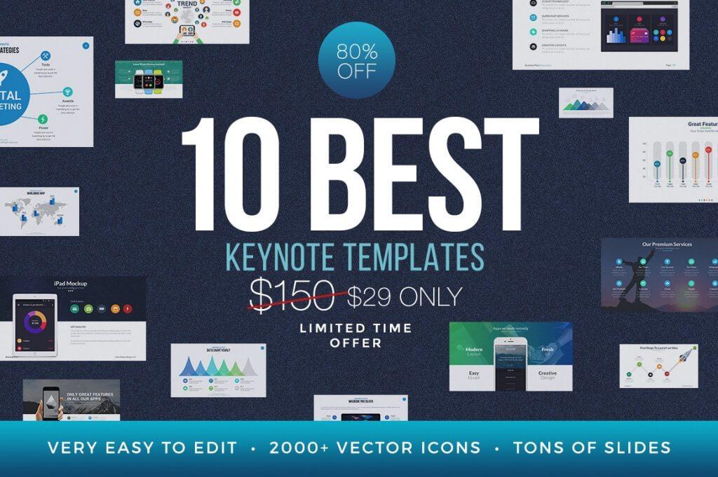 25 Modern Premium Keynote Templates – Keynote Template