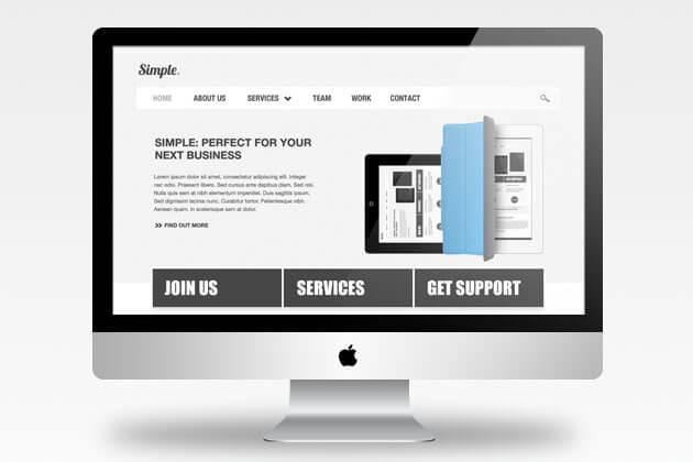 40+ iMac Mockups: PSDs, Photos & Vectors   Design Shack
