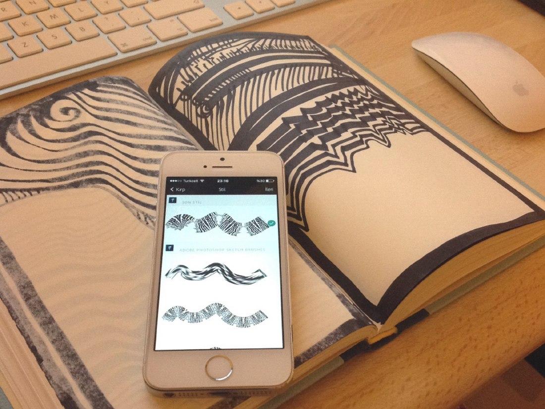 4-Free-Doodle-Brushes-for-Illustrator 25+ Best Free Adobe Illustrator Brushes 2021 design tips