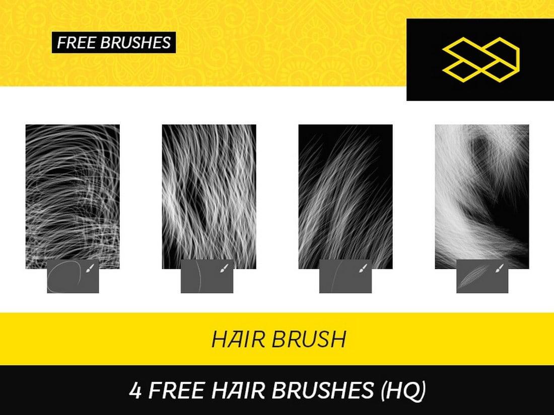 4 Free Hair Brushes