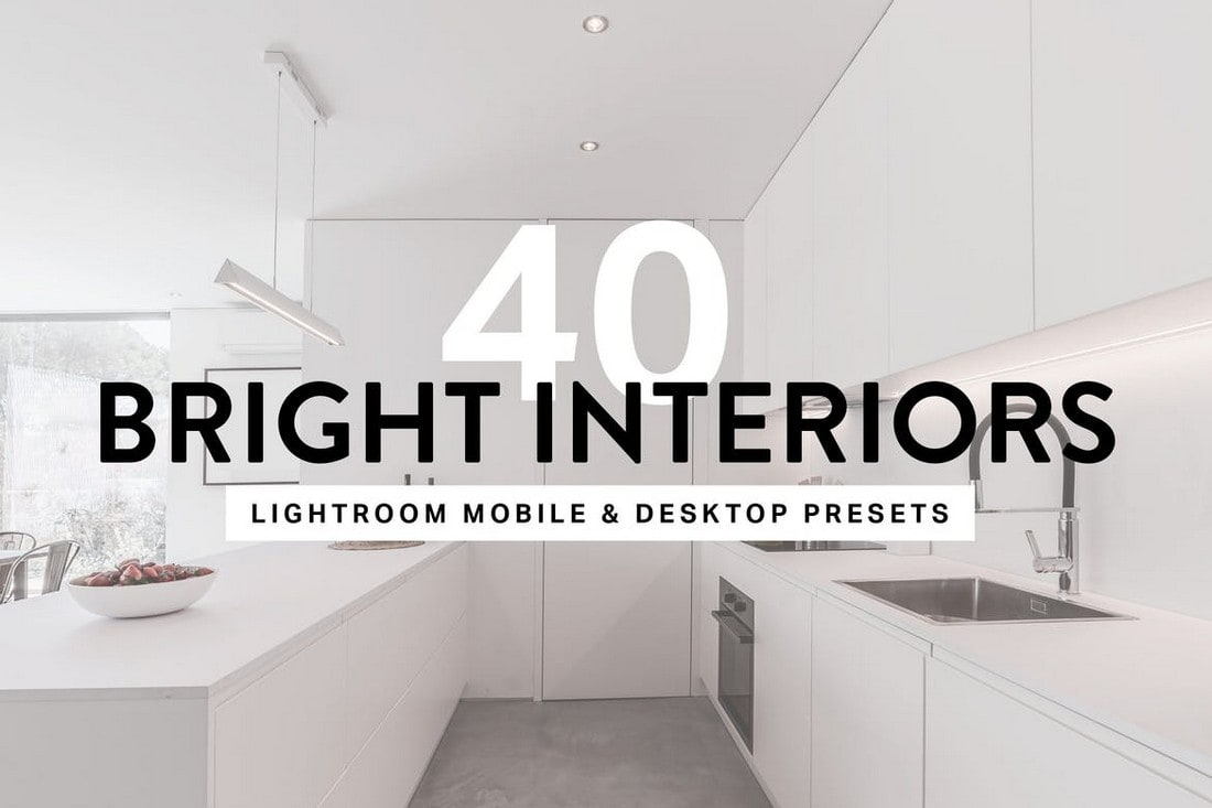 40 Bright Interior Lightroom Presets