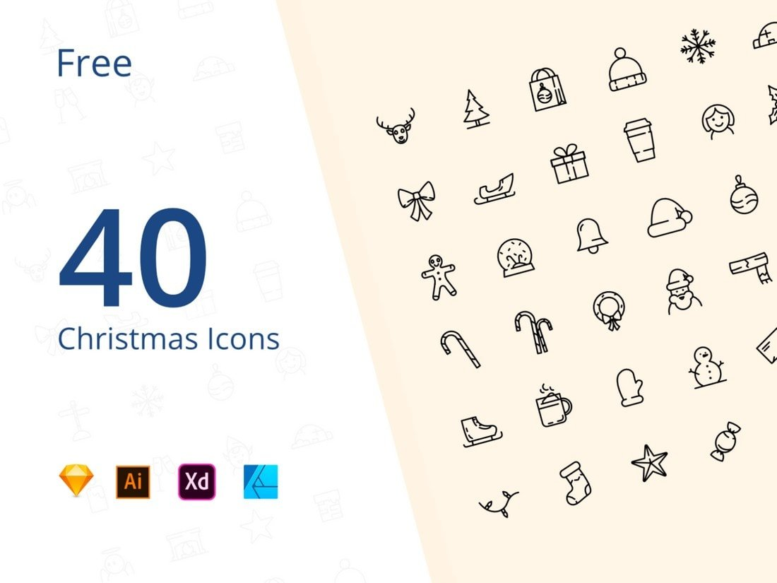 40-Free-Christmas-icons 20+ Best Affinity Designer Templates & Assets 2020 design tips  Inspiration