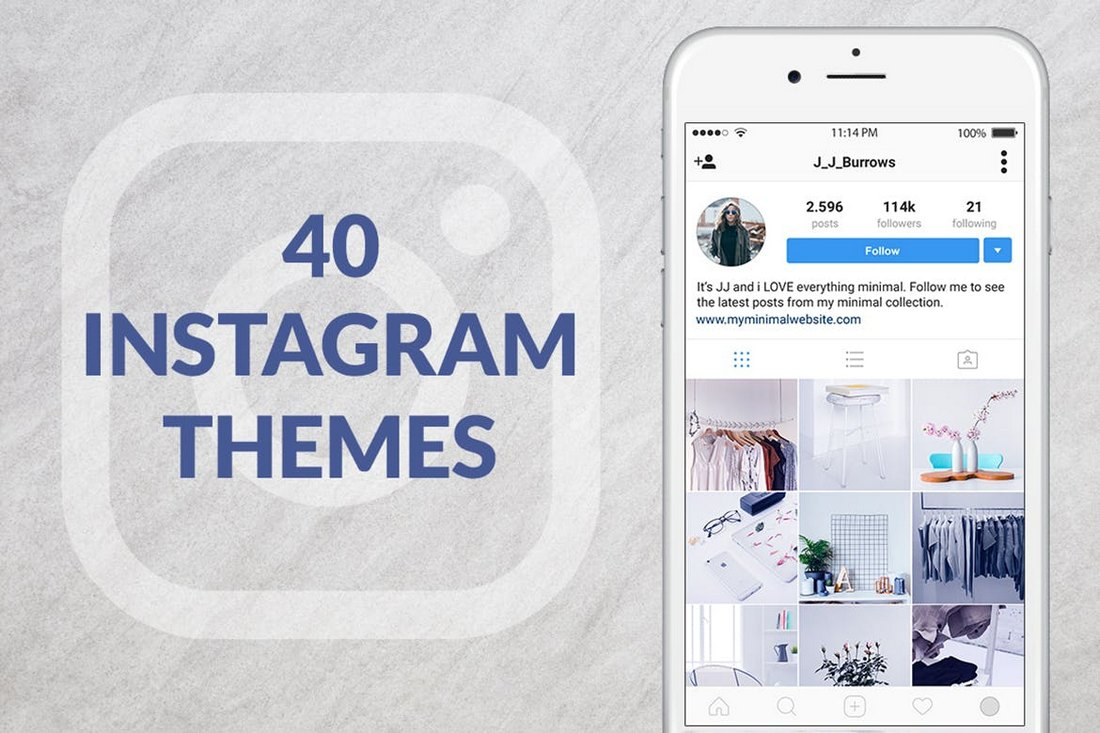 40 Instagram Themes