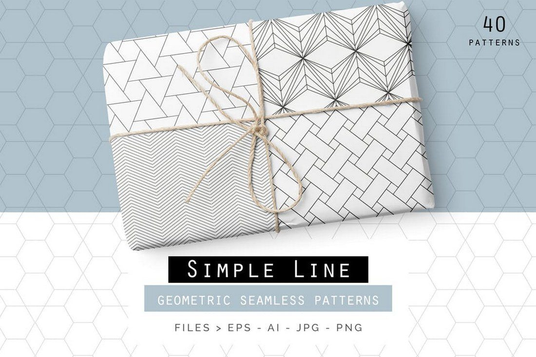 40-Line-Geometric-Patterns 30+ Best Line Patterns & Textures design tips