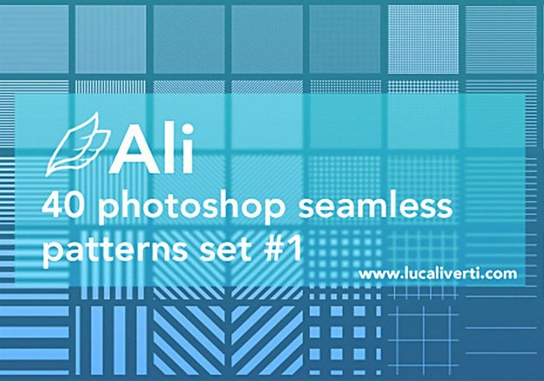 40-Photoshop-Seamless-Patterns 30+ Best Line Patterns & Textures design tips