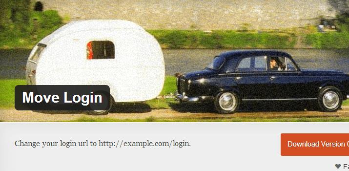 wordpress move login page custom plugin