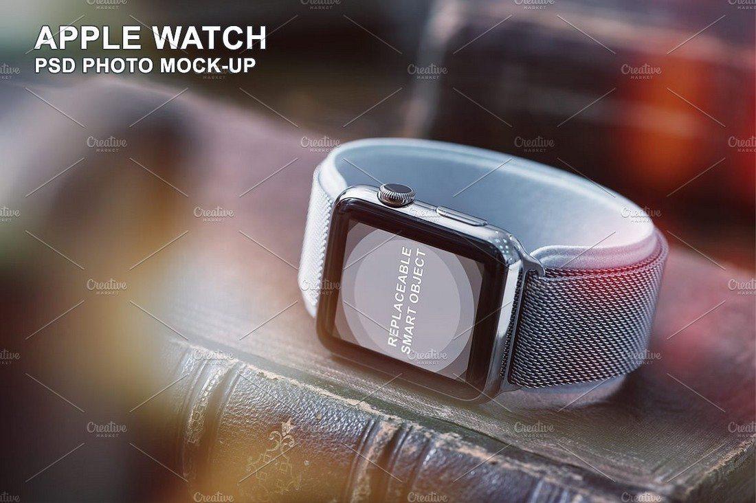 42mm-Smart-Watch-Mockup 50+ Apple Watch Mockups & Graphics design tips