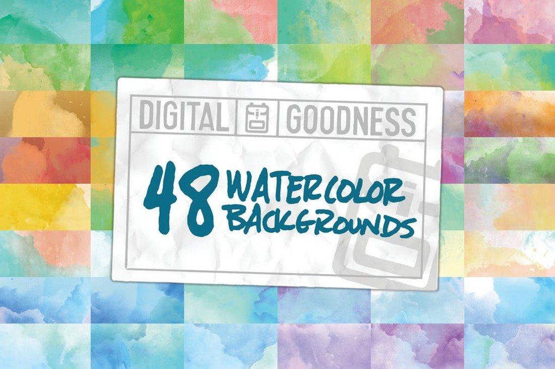 48-Watercolor-Backgrounds 30+ Best Watercolor Background Textures design tips