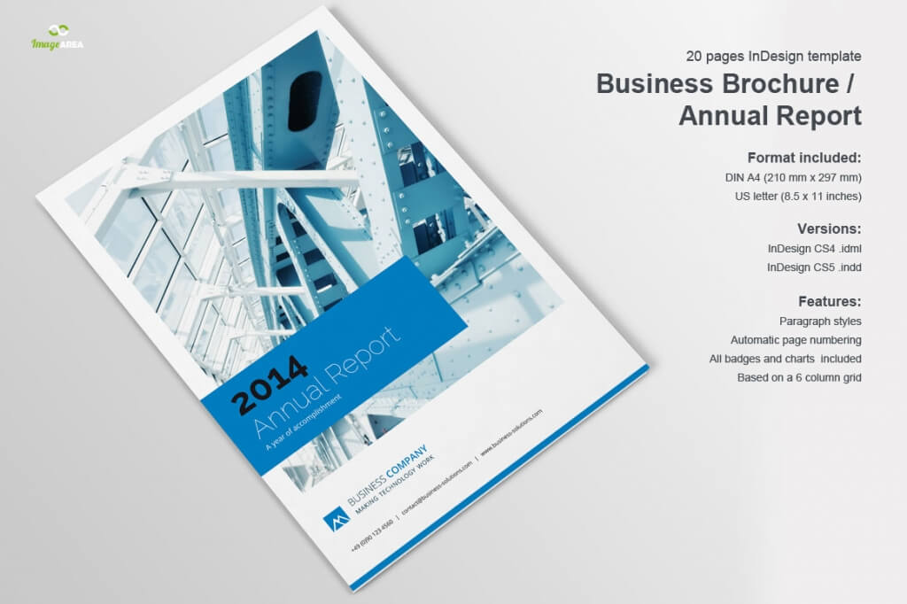 20 annual report templates top digital agency san for Company brochure template