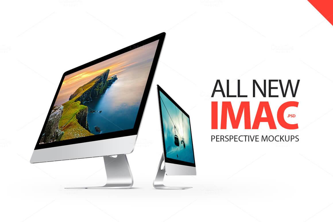 5-19 40+ iMac Mockup PSDs, Photos & Vectors design tips