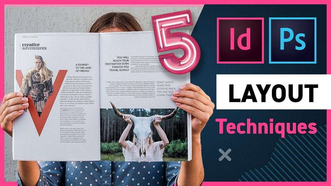 5 Creative Layout Techniques with InDesign