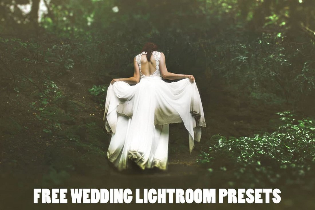 5 Free Wedding Lightroom Presets