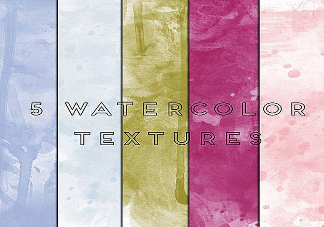 5-watercolor-texture-backgrounds 30+ Best Watercolor Background Textures design tips