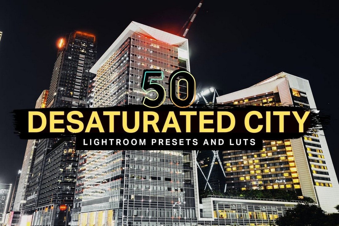 50 Desaturated City Lightroom Presets