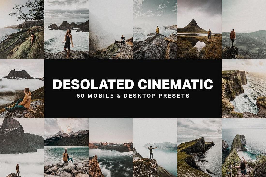 50-Desolated-Cinematic-Lightroom-Presets 40+ Best Landscape Lightroom Presets 2020 design tips  Inspiration|landscape|lightroom