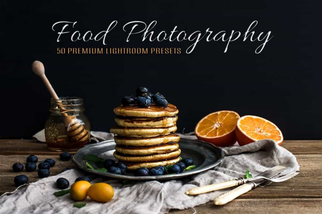 50 Food Photography Lightroom Presets
