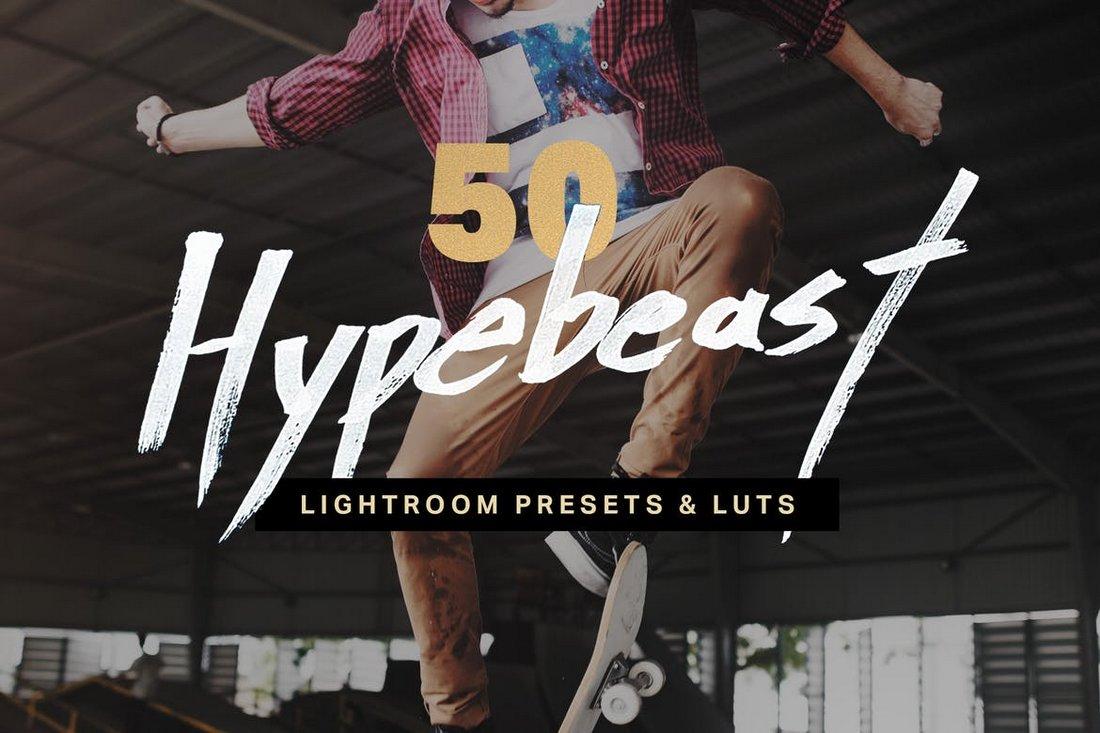 50 Hypebeast Lightroom Presets
