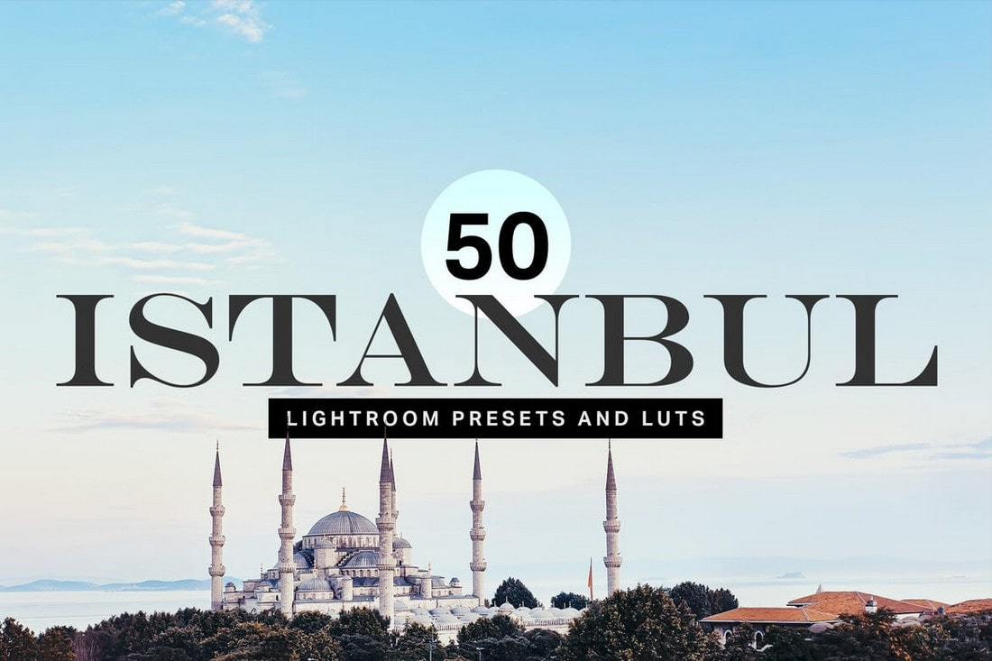 50 Istanbul Travel Lightroom Presets
