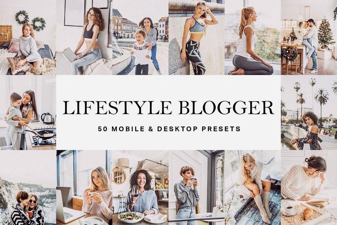 50 Lifestyle Blogger Lightroom Presets