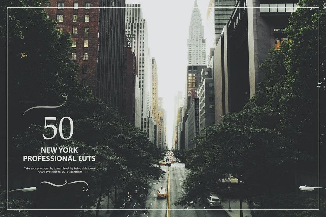 50 New York LUTs Lightroom Presets