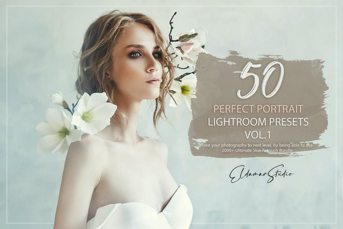 50 Perfect Portrait Lightroom Presets