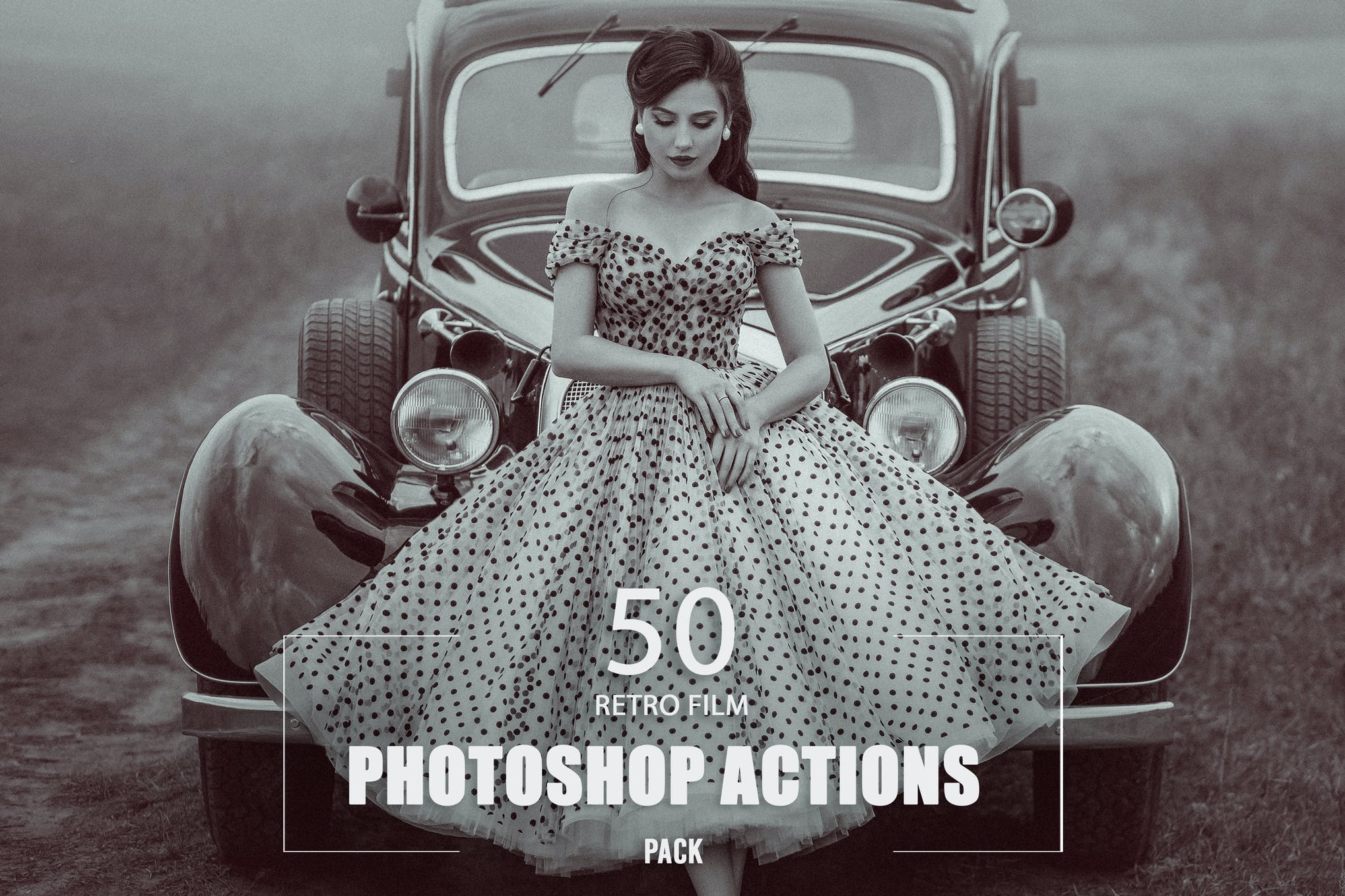 50 Retro Film Photoshop Actions